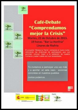 Café-coloquio en Linares