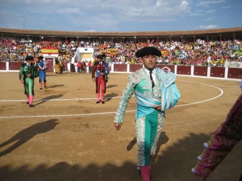 Porritas de Guijuelo en la Plaza de Toros de Guijuelo