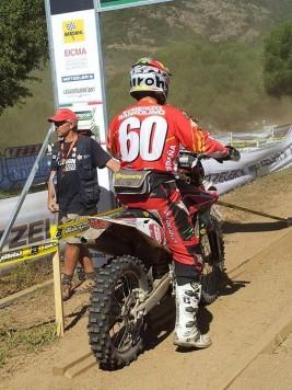 Lorenzo Santolino con la selección española. Foto befurious.com