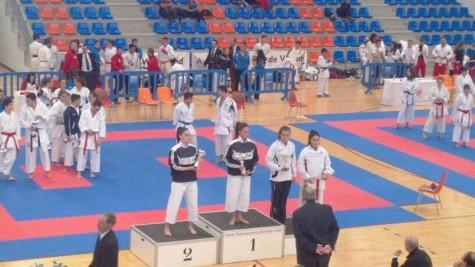 Campeonato regional de kárate celebrado en Valladolid. Foto Gimnasio La Luna