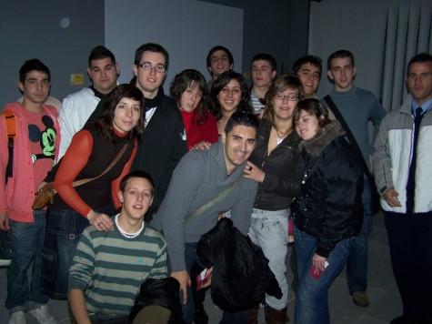 Grupo de visitantes en el Museo de la Industria Chacinera