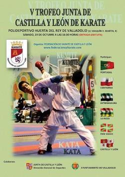 V Trofeo Junta de Castilla y León de kárate