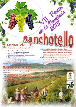 Fiesta de la Vendimia en Sanchotello