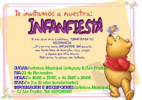 Cartel Infanfiesta