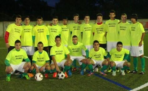 Equipo juvenil provincial. Foto twitter J.Carlos Porras