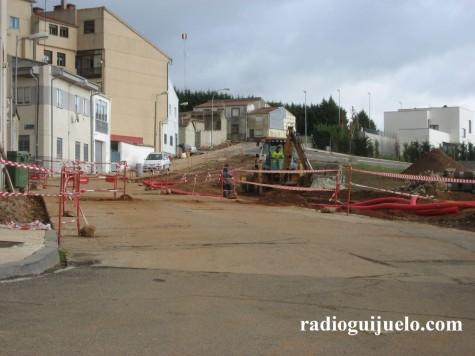 Obras en la Calle Adelfa