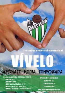 Campaña de socios media temporada C.D. Guijuelo