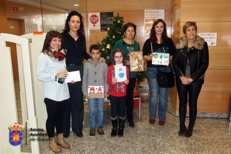 Entrega de premios en la Biblioteca Municipal. Foto guijuelo.es