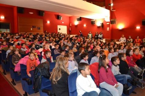 Los alumnos del Filiberto Villalobos en el Centro Cultural
