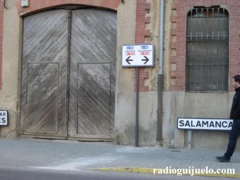 Nueva Señalización en Filiberto Villalobos