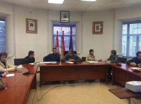 Pleno en el Ayuntamiento de Guijuelo