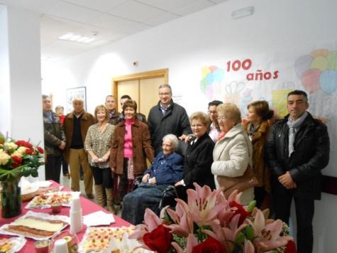 Celebración de los 100 años de Concepción Díaz