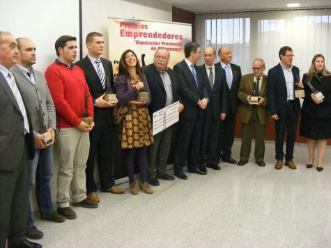 Premios emprendedores de la Diputación de Salamanca. Foto Salamancartv.com
