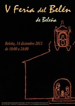 Feria del Belén en Beleña