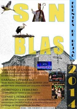 Fiestas de San Blas en Fuentes