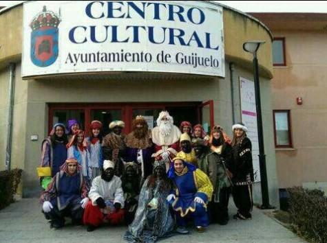 Los Reyes Magos en el Centro Cultural