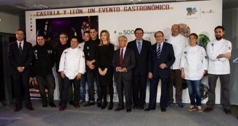 Evento gastronómico de la Junta. Foto Junta CyL