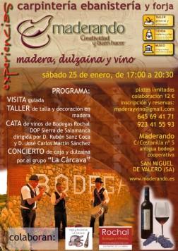 Madera y vino en San Miguel de Valero