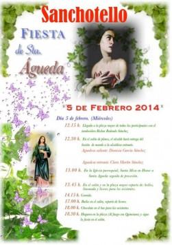 Fiesta de las Águedas en Sanchotello