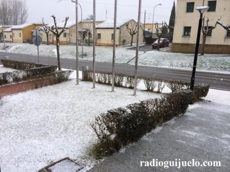 Nieve en Guijuelo