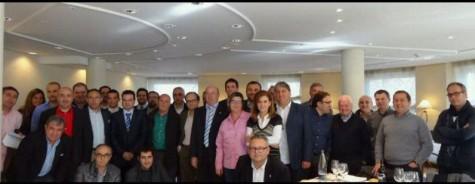 Reunión de clubes de Segunda B en Madrid