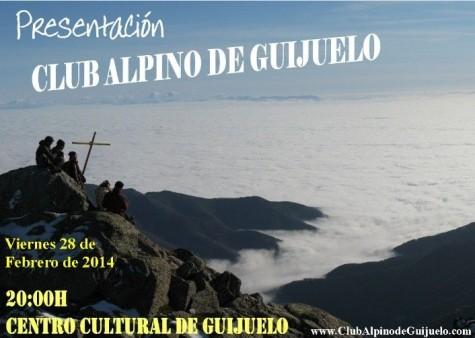 Presentación del club alpino de Guijuelo