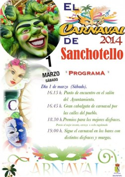Programa de Carnaval en Sanchotello