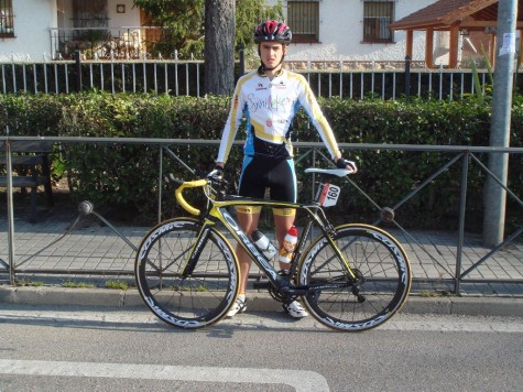 El ciclista guijuelense Álvaro Sánchez