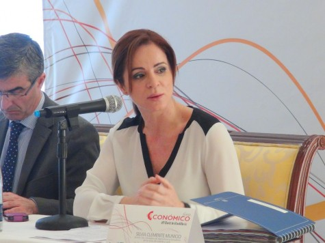 La Consejera Silvia Clemente. Foto salamancartv.com