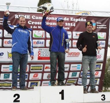 Lorenzo Santolino en el podium. Facebook  Santolino
