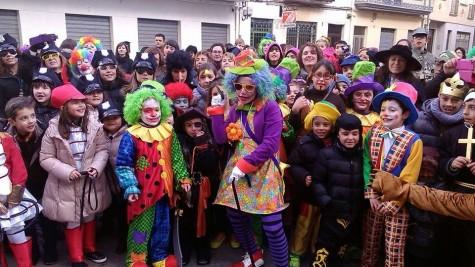 Carnaval en la Villa. Foto Rafa Martínez