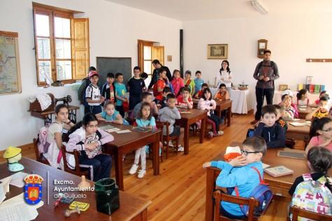 Alumnos del Miguel de Cervantes en Cabezuela