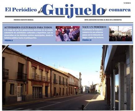 Boceto del futuro periódico de Guijuelo y Comarca