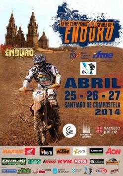 Nacional de Enduro en Santiago de Compostela