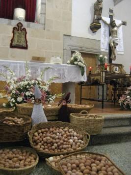 Huevos del Cristo en Fuenterroble. Foto archivo.