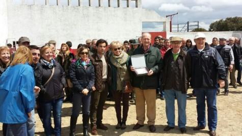 Homenaje a Pedro Flores por parte de la Asociación Taurina