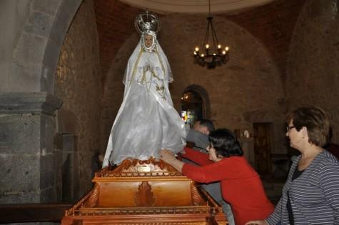 Virgen del Gozo. Foto Isabel Campos