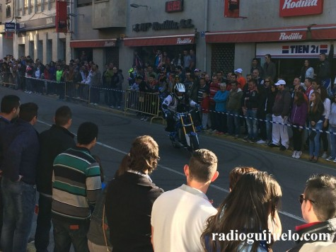 Concentración Motera en Guijuelo. Foto archivo.