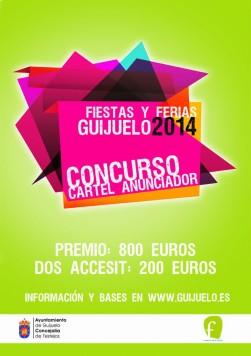 Cartel concurso de carteles fiestas 2014