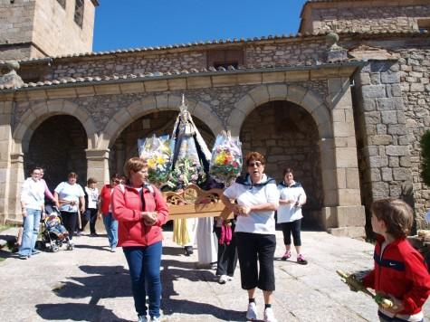 Romería de la Vírgen de la Orden en Puente del Congosto. Foto archivo