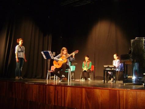 Audiciones de música en el Centro cultural