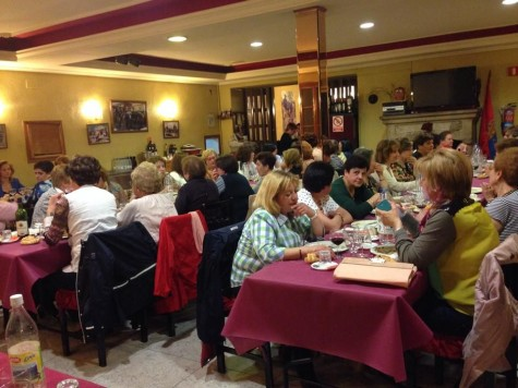 Cena de la Asociación Arte y Tradición Charra. Foto Asociación Arte y Tradición Charra