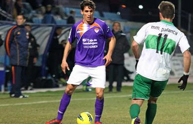 Antonio Moreno con la camiseta del C.D. Guadalajara. Foto página web Atco. Sanluqueño