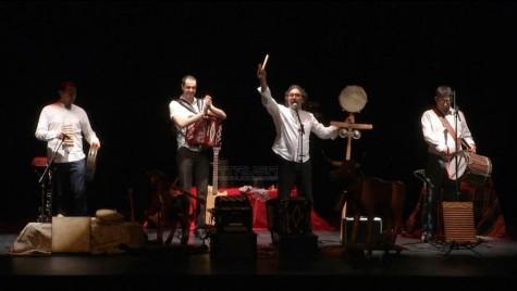 Actuación de Gabriel Calvo. Foto Centro Cultural de Guijuelo