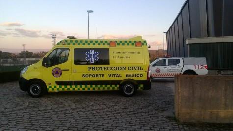 Nueva ambulancia de Guijuelo