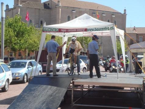 El ciclista Álvaro Sánchez. Foto Álvaro Sánchez
