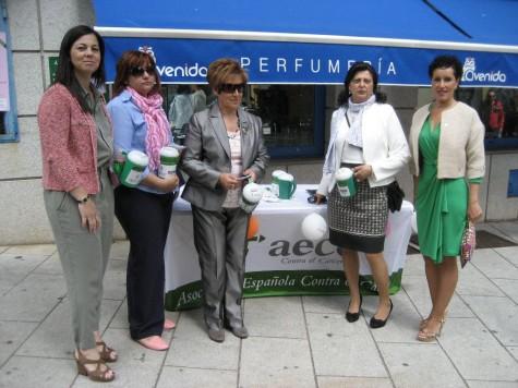 Cuestación de la lucha contra el cáncer. Foto AECC