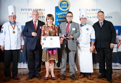 Simón Martín obtiene el Crystal Taste Award. Foto Simón Martín.