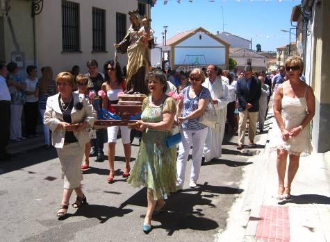 Fiestas en Campillo. Foto archivo