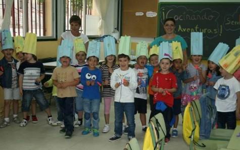 Niños participantes en las semicolonias. Foto archivo